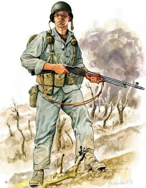Szyzsko Marek. Американские пехотинцы.