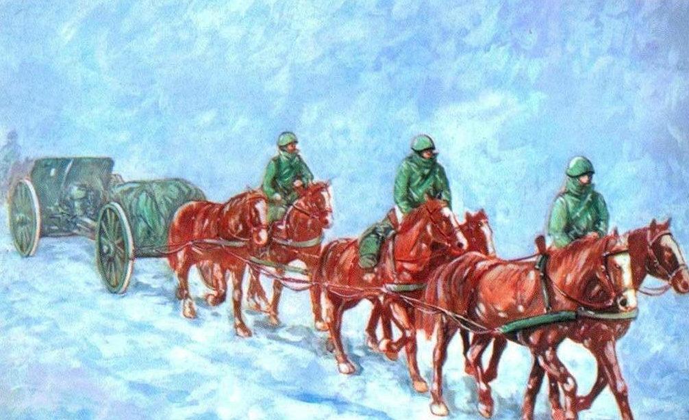 Parducci Alberto. Восточный фронт. 1941 год.
