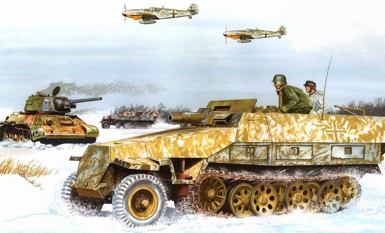 Greer Don. Немецкое наступление.