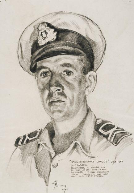 Mainwaring Geoffrey. Лейтенант Alexander Steel.