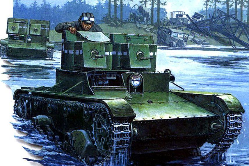 Deredos Andrzej. Танк Т-26А.