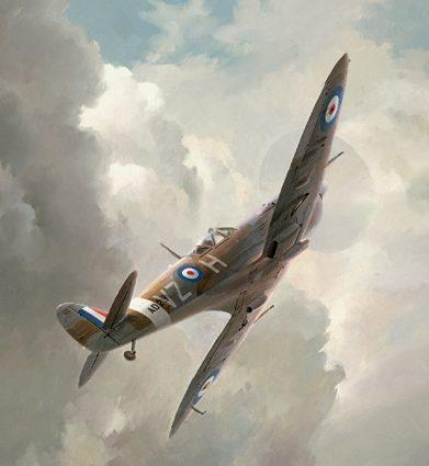 Ferris Keith. Истребитель Spitfire.