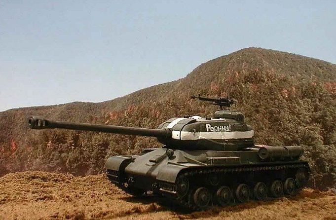 Herne Jeff. Танк ИС-2.