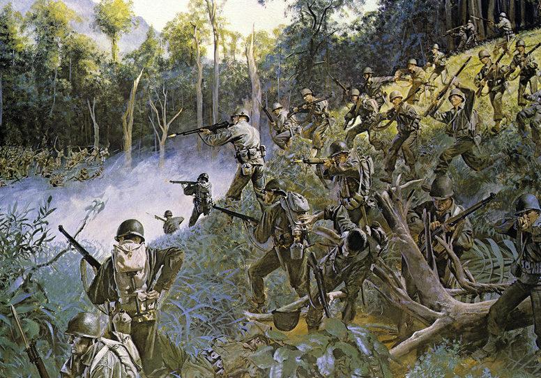 McBarron Charles. Бой в джунглях.