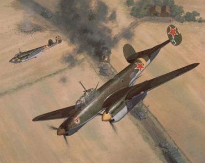 Woodcock Keith. Бомбардировщик Пе-2.