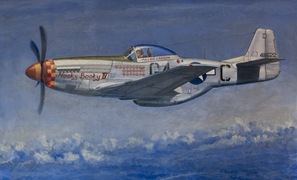 Dubowik Piotr. Истребитель P-51K «Mustang».
