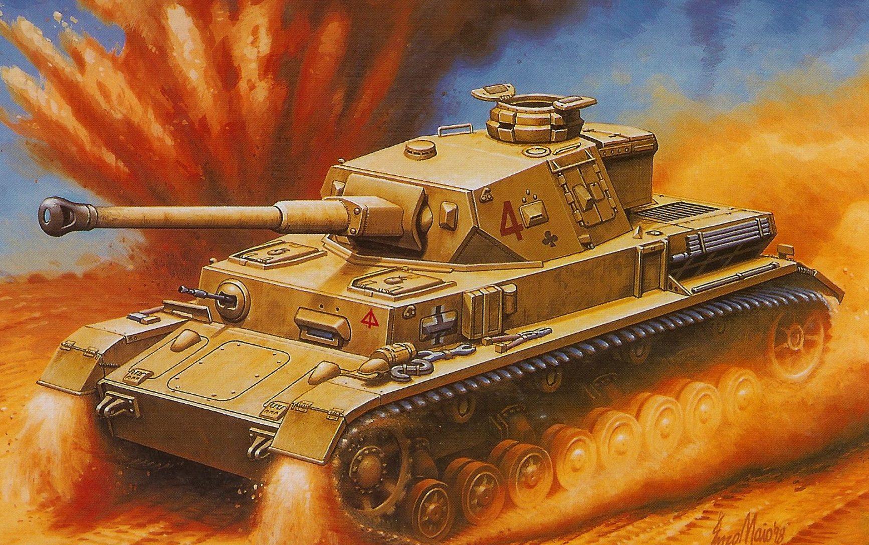 Maio Enzo. Танк Panther Ausf F-2.
