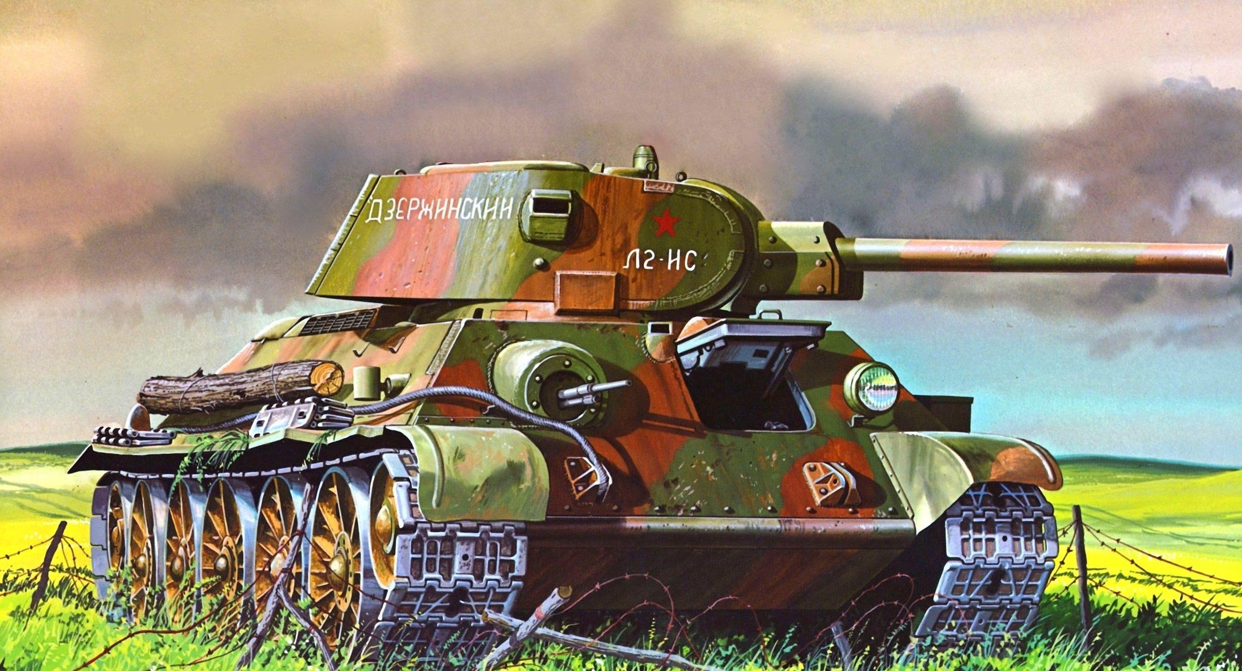 Greer Don. Танк Т-34/76.