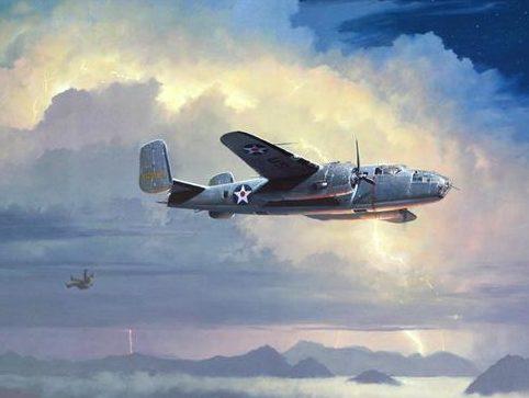 Phillips William. Падающий бомбардировщик.