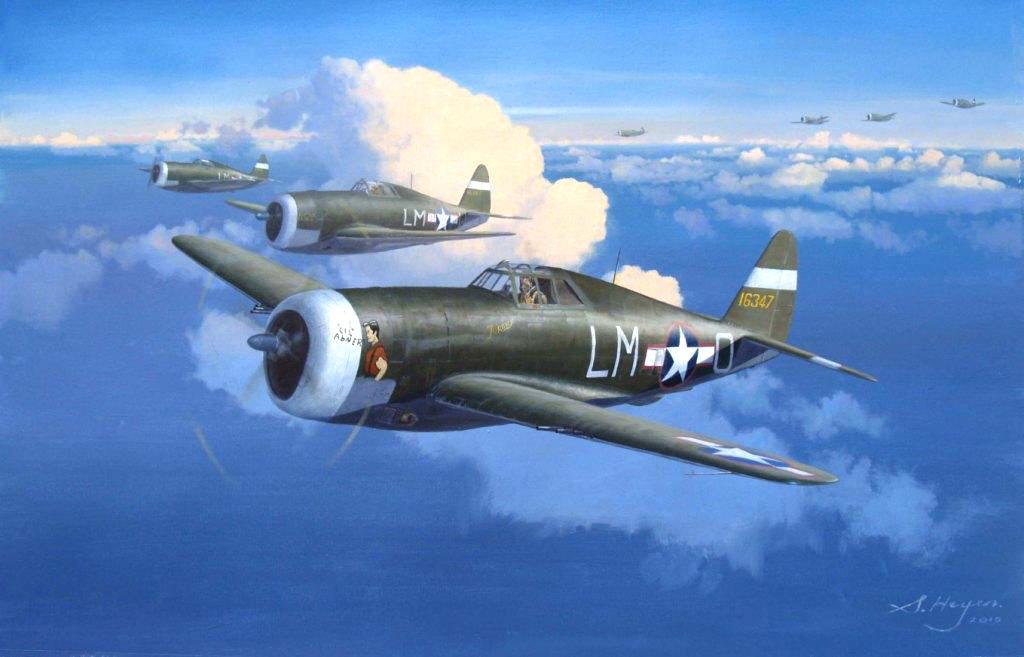Heyen Steven. Истребители P-47.