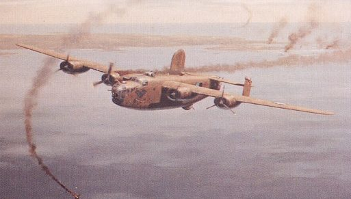 Woodcock Keith. Бомбардировщик B-24 Liberator.