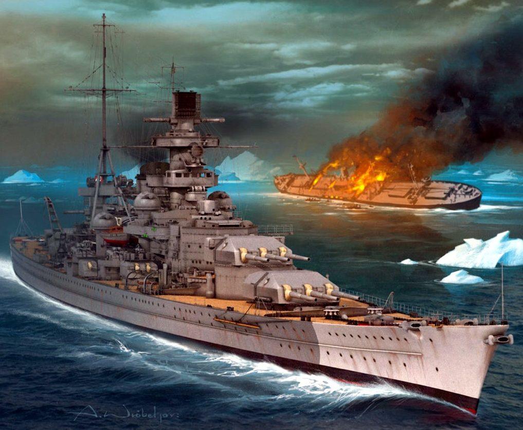 Wróbel Arkadiusz. Линкор «Scharnhorst».
