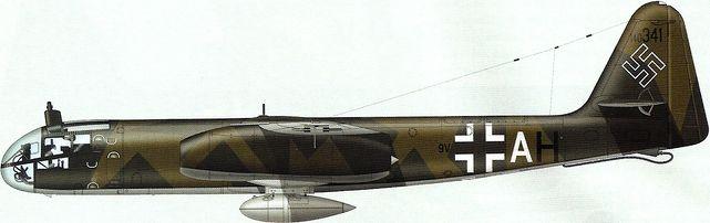 Tilley Pierre-André. Реактивный бомбардировщик Ar 234B-2b.