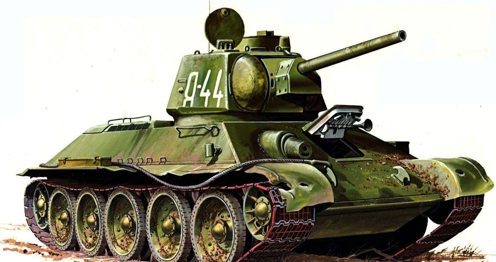 Greer Don. Огнеметный танк ОТ-34/76.