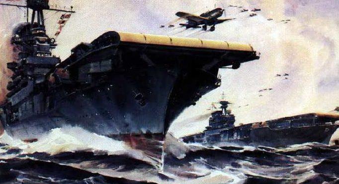 Beaumont Arthur. Авианосец «Wasp».
