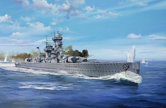 Wilson Randall. Тяжелый крейсер «Graf Spee».
