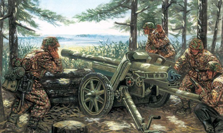 Rava Giuseppe. Противотанковое орудие 7,5 cm Pak 97/38.