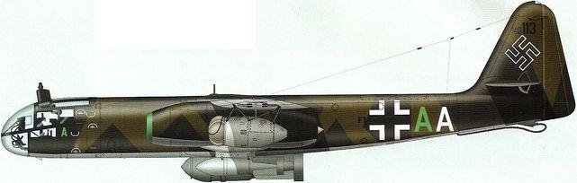 Tilley Pierre-André. Реактивный бомбардировщик Ar 234 S13.
