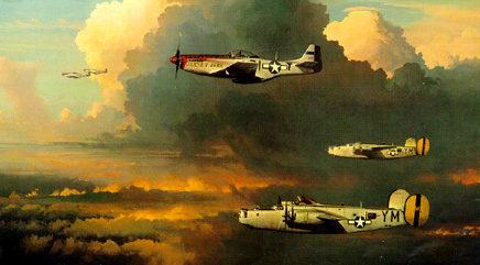 Phillips William. Сопровождение бомбардировщика.
