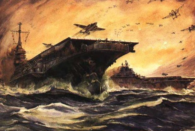 Beaumont Arthur. Авианосец «Midway».