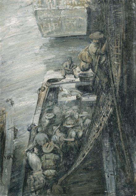 Watson Douglas. Высадка с корабля «Manoora».