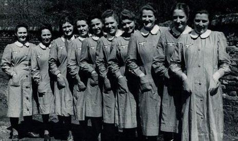 Женщины-служащие вспомогательной службы связи сухопутных войск.