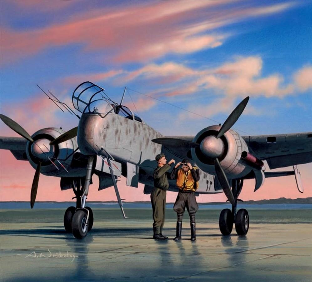 Wróbel Arkadiusz. Ночной истребитель He-219.