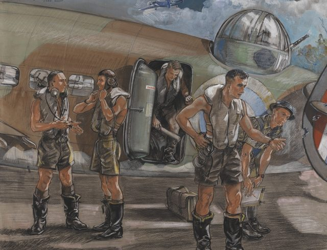 Hodgkinson Roy. Экипаж бомбардировщика.