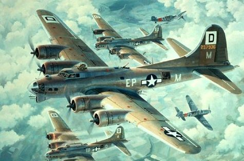 Ferris Keith. Бомбардировщики B-17s.