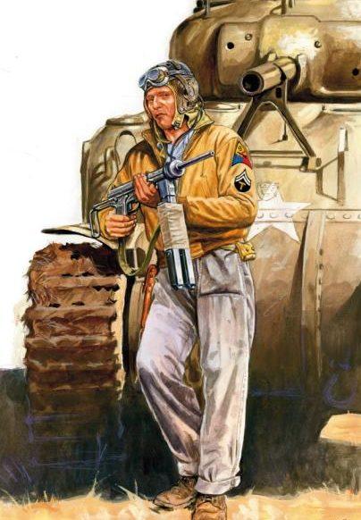 Szyzsko Marek. Американский танкист.