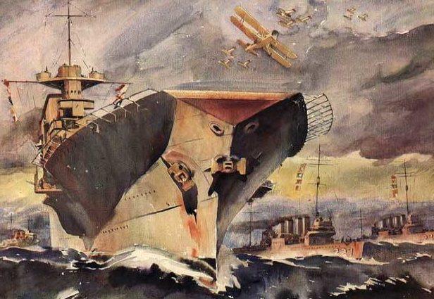Beaumont Arthur. Авианосец «Saratoga».