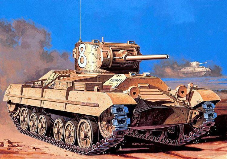 Deredos Andrzej. Танк Valentine Mk.I.