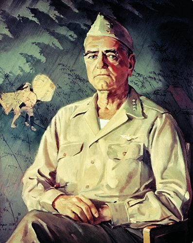 Draper William. Генерал William F. Halsey.
