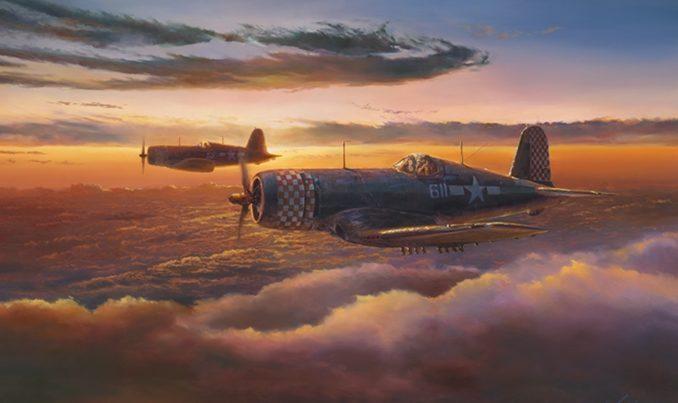 Herter Rick. Истребители F-4U Corsairs.