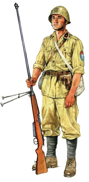 Szyzsko Marek. Итальянский морской пехотинец.