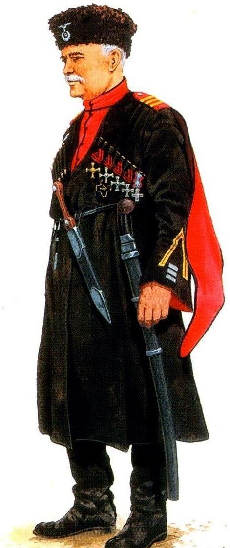 Wróbel Arkadiusz. Полковник Koновов Донского казачества.