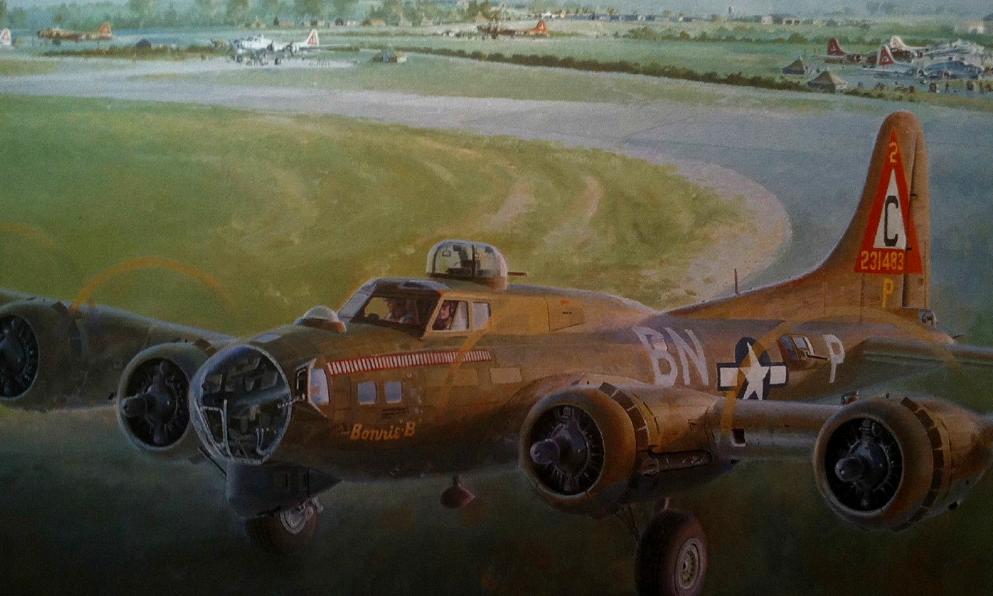 Ferris Keith. Бомбардировщики B-17G.