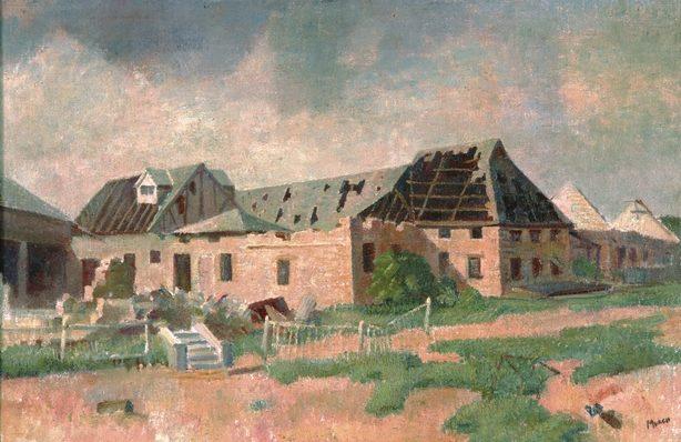 Murch Arthur. Руины в Дарвине.