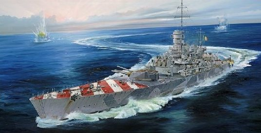 Wilson Randall. Авианосный крейсер «Roma».