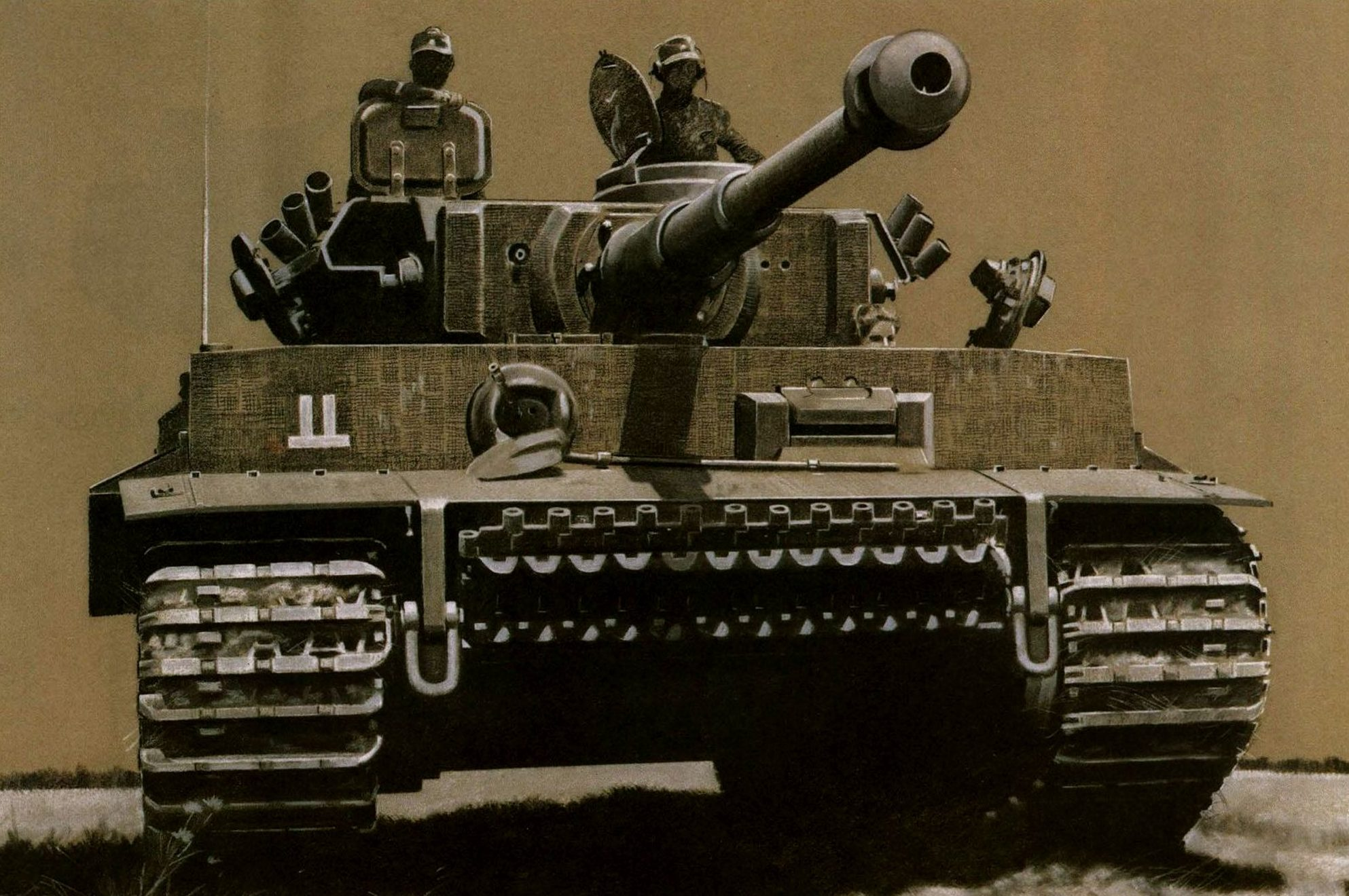 Feist Uwe. Танки Tiger I.