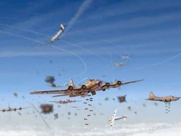 Laurier Jim. Бомбардировщик В-17.