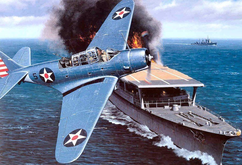 Stokes Stan. Пожар на авианосце.