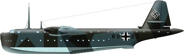 Tilley Pierre-André. Военно-транспортный самолет Blohm und Voss BV 238 V-1.