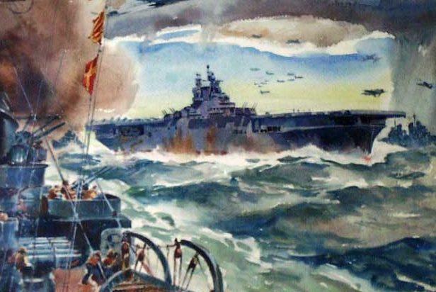 Beaumont Arthur. Авианосец «Hornet».