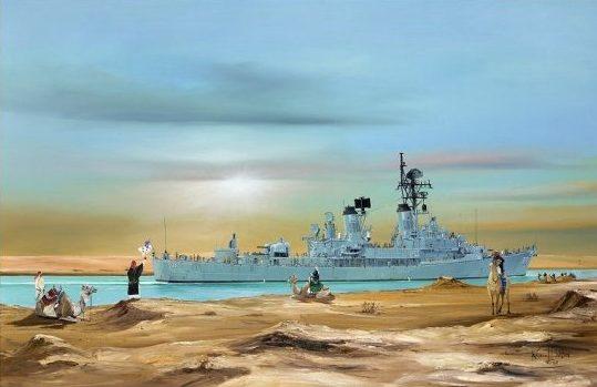 Wilson Randall. Легкий крейсер «Perth».
