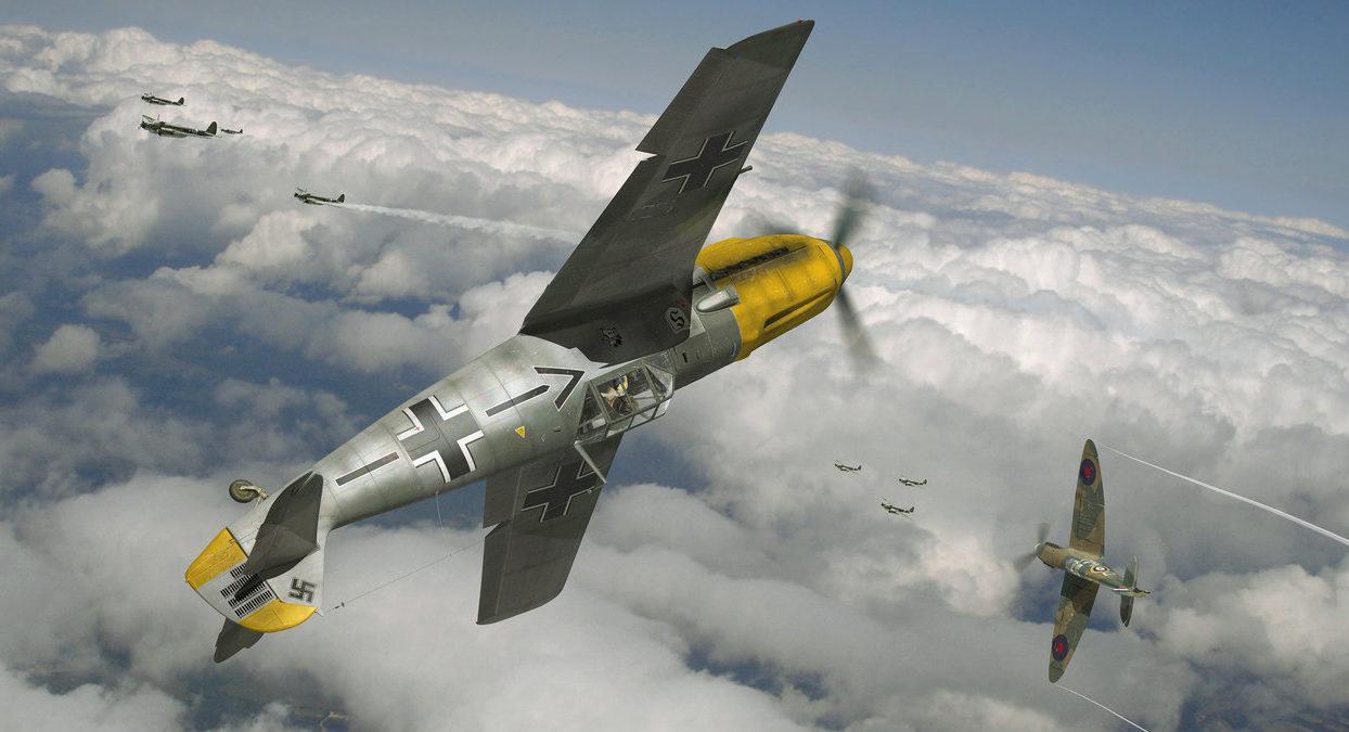 Ganote Matthew. Ас Luftwaffe.