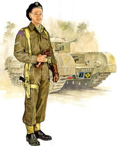 Szyzsko Marek. Канадский танкист.