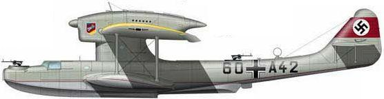 Tilley Pierre-André. Летающая лодка Do 18-1.