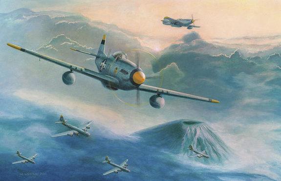 Lisinski Norb. Истребитель Р-51.