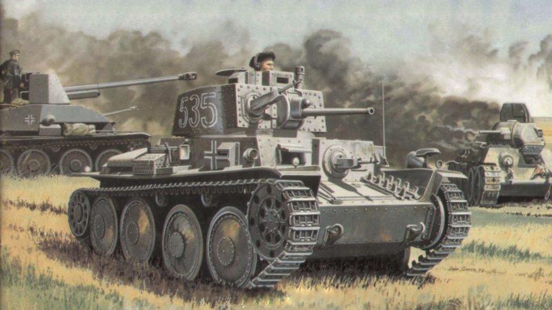 Greer Don. Танк Panzer 38(t).